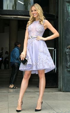 Petra Nemcova from Stars at Paris Haute Couture Fashion Week Fall 2015 | E! Online