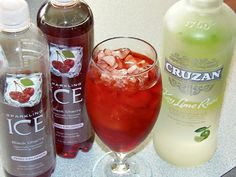 Introducing Bold Black Cherry from Sparkling ICE + Lime Rum for an Easy Cocktail