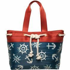 Nautical seatbelt bag