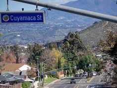 Cuyamaca Street & Mast Boulevard in Santee, California (one of the most beautiful intersections in the U.S)