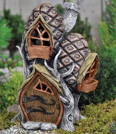 Pine Cone Fairy Townhouse