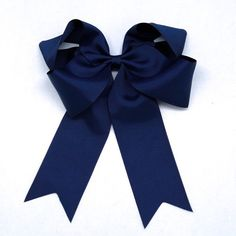 Ponytail Grosgrain Bow Hair Clips by Kidz Outfitters - $6.99  Extra large boutique bow in grosgrain ribbon with metal clip. Perfect for ponytails!