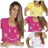 Kit Com 5 Croppeds Com Estampa. - Shopping de Atacado Trimoda  http://www.trimoda.com.br/collections/moda-fitness-atacado/products/kit-com-5-croppeds-com-estampa