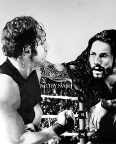 Brothers. Drawing of dean ambrose and roman reigns. @WWERomanReigns #THESHIELD #wwe #wwefanart #Smackdown pic.twitter.com/90f9iLqryy