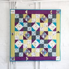 Enchanted Forest Quilt  by Izzy of Creative Quilting.