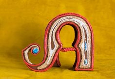 Gingerbread Drop Cap Food Typography by Danielle Evans