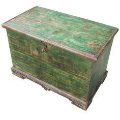 Painted trunk Seller English Country Antiques