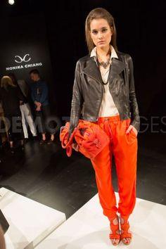 Monika Chiang fashion at Spring 2013 Fashion Week in New York City | Demotix.com