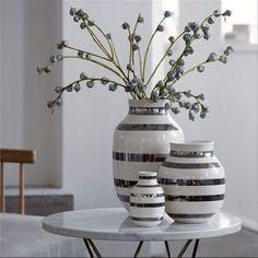 Omaggio vase sølv, 30,5 cm - FORUDBESTILLING