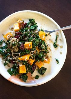 Wild Rice and Butternut Squash Salad with Maple Balsamic Dressing   KitchenDaily.com