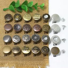 Custom Studs And Spikes, Custom Studs And Spikes direct from Xiamen Dumas Garments & Accessories Co. Studs And Spikes, Jeans Button, Make Color, Leather Working, Nespresso, Buttons, Shake, Giant Tree, Accessories