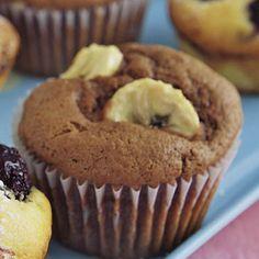 Schokoladige Bananen-Muffins Rezept | Küchengötter