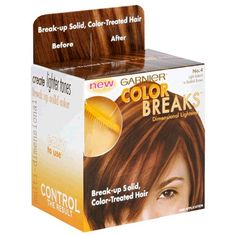 Garnier Color Breaks Dimensional Lightener Light Auburn to Reddish Brown No 4 1 application * Details can be found by clicking on the affiliate link Amazon.com.