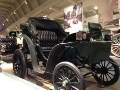 Early Automobile at the Henry Ford Museum, Dearborn, MI
