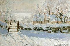 Claude Monet - La pie