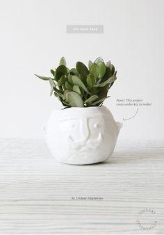 DIY Face Vase