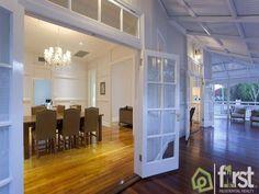A View on Design: East Brisbane Classic Queenslander Home