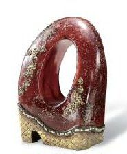 10-inch Crystal Stone Decorative Piece with Gold Accents $69.00