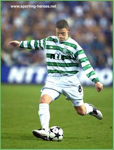 Alan Thompson - Celtic FC - UEFA Cup Final 2003