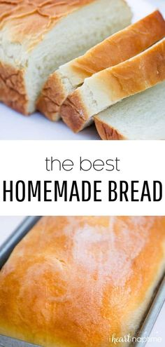 How to Make THE BEST Homemade Bread – I Heart Naptime The BEST homemade bread recipe that's super soft and has the perfect touch of sweetness. Top it with fresh homemade jam for the ultimate treat. Bread Recipes, Baking Recipes, Snack Recipes, Snacks, Potato Recipes, Drink Recipes, Cookie Recipes, Chicken Recipes, Best Homemade Bread Recipe