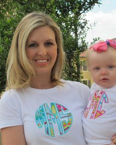 Adult Monogrammed T-Shirt on Etsy, $20.00
