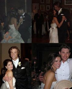 jensen and danneel wedding photos | ... and Genevieve Padalecki & Jensen and Danneel Acklesfirst dance