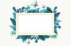 Ocean Wallpaper, Trendy Wallpaper, Wallpaper Pc, Tumblr Wallpaper, Pretty Wallpapers, Polaroid Picture Frame, Overlays Picsart, Background Design Vector, Watercolor Plants