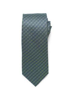 Small Circle Tie - Green (http://noeliasanchez.jhilburn.com/products/circle_tie/green) $89