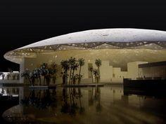 Estórias da História: Louvre de Abu Dhabi começa a ser construído logo n...