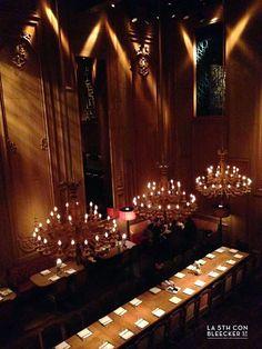 Sexo en Nueva York lanzó el restaurante Buddakan, el más impresionante en el que he estado.