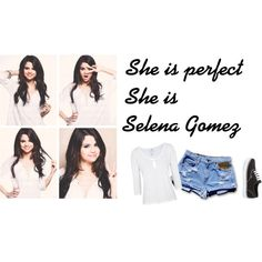 """Selena Gomez"" by paukbarrancos on Polyvore"