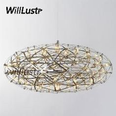 [ $48 OFF ] Moooi Raimond Zafu The Suspension Light Modern Pendant Lamp Raimond Puts Hanging Lighting Led Firework Stainless Steel Oval