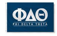 Phi Delta Theta Custom Line Flag
