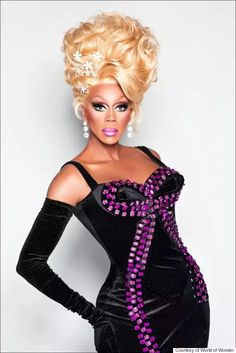 """Are you ready for the next evolution in drag herstory? Last week the legendary RuPaul and World of Wonder announced """"RuPaul's DragCon."""" Described a. Races Fashion, Fashion Art, Fashion 2017, Runway Fashion, Rupaul Drag Queen, Celebs, Celebrities, Lady, Tumblr"""