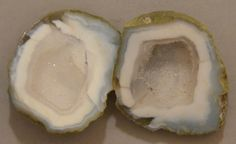 Tabasco Geode 1 Pair Cut and Polished Great for Jewelry 21828