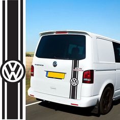 Caravelle Rainbow Vinyl Sticker Inserts to fit VW T5 /& T6 Transporter