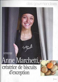 """Kalliste - hiver 2008 2009, """"Anne Marchetti créatrice de biscuits d'exception"""""""