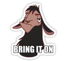 Bring it on Sticker