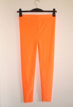 Bright Orange Leggings