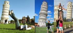 15 Alternative Funny Photographs on the Leaning Tower of Pisa