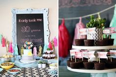 """""""It only took me 30 years to be this awesome."""" - 20 Ideas for Your 30th Birthday Party via Brit + Co."""