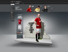 Nike Gear Up by Rasmus Wangelin, via Behance