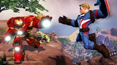 'Marvel Battlegrounds' playset for 'Disney Infinity features four-player co-op, introduces new Captain America figure Captain America Figure, Little Trailer, Marvel Entertainment, New Details, Indie Games, Marvel Comics, Walt Disney, Avengers, Star Wars