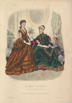 1869 - La Mode Illustrée