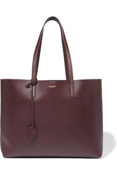 Burgundy leather (Calf) Snap-fastening tab at open top Designer color: Bordeaux Comes with dust bag Weighs approximately 3.5lbs/ 1.6kg   Made in Italy