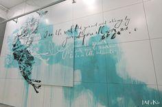 Mel et Kio - Art mural - wall art- Miami Ironside