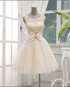 Pretty Lace Short Prom Dresses,Homecoming Dress,Graduation Dress On Sale,XS65