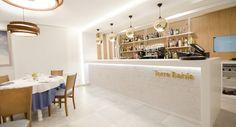 Diseño de barra Restaurante Torre Bahia. #carmaninteriorismo, #proyecto, #diseño, #interiorismo, #restaurante, #mojacar