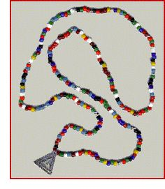 fun way to learn about pi (3.14) - make a necklace! Original post on The Math Forum.