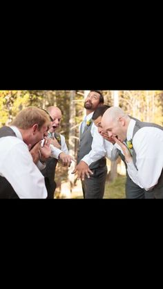 Must have grooms picture!